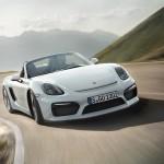 Porsche Boxster Spyder 2015 frontal