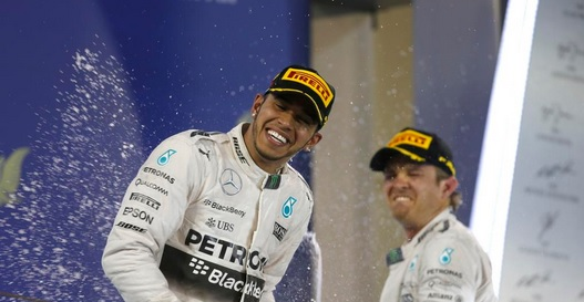 hamilton podio f1 2015