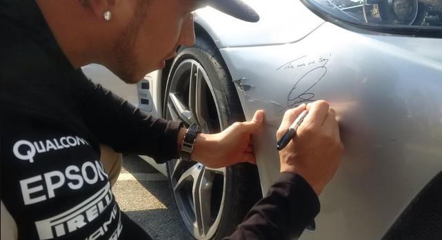 hamilton toque mercedes AMG