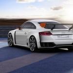 Audi TT clubsport turbo concept trasera