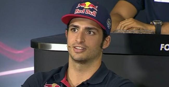 Carlos Sainz Circuito barcelona F1 2015