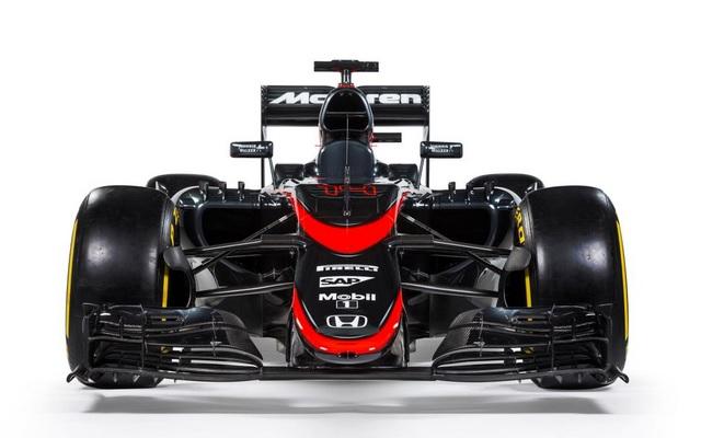 MCLAREN HONDA GRIS F1 2015