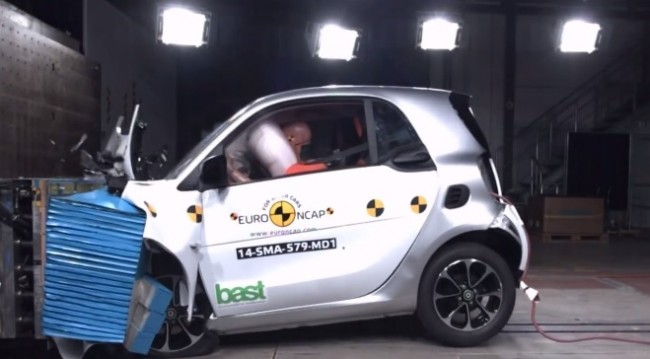 crash test smart 2014 euroncap