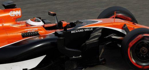 Stoffel Vandoorne Mclaren F1 2017