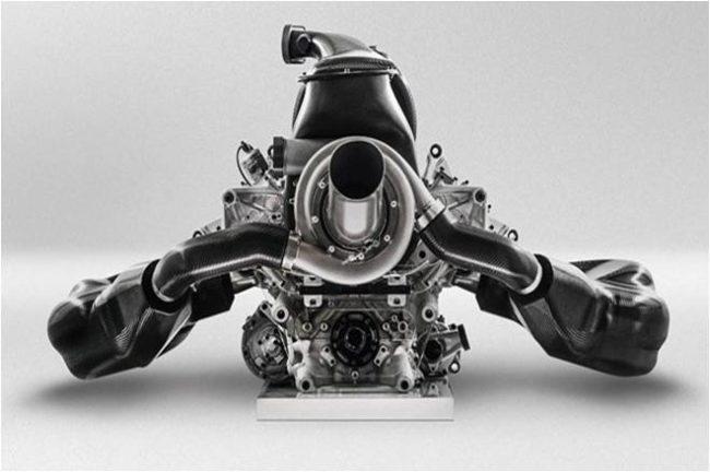 motor Mclaren Honda F1 2017